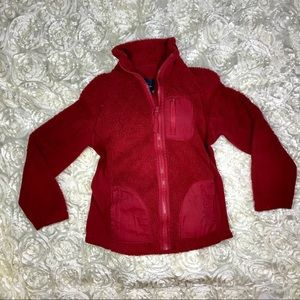 Faded Glory Jacket. Red. SZ M